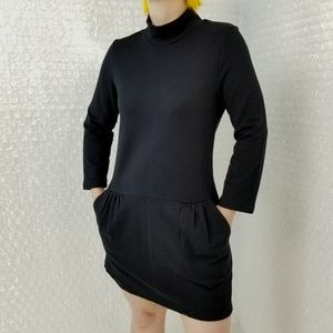 Free People F.P black Mod Tunic dress